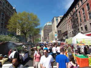Going to a street fair is like seeing the same movie over and over.