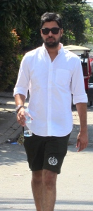 Unfriendly man