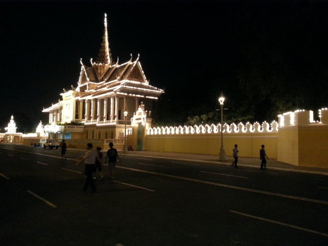 Merely one side of the massive Royal Palace complex.