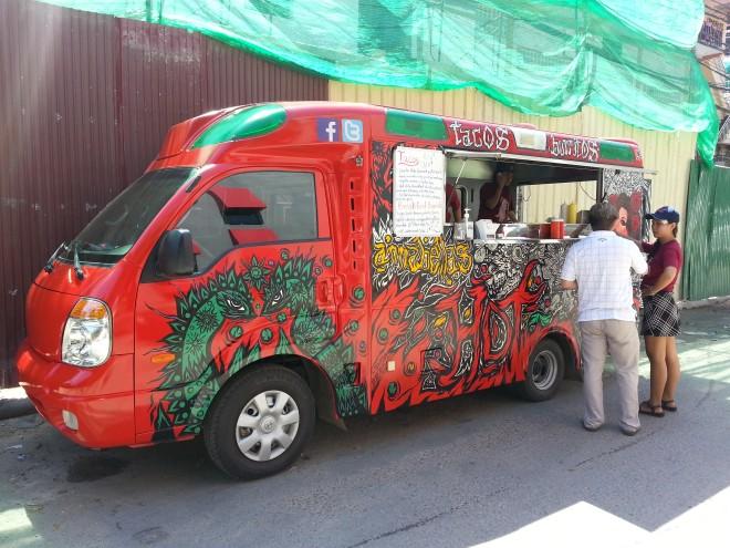 Food tacs truck