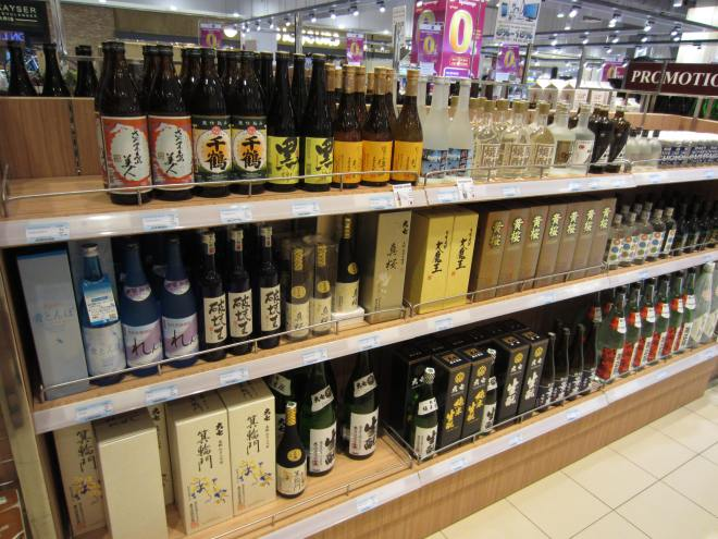 The large quantity of wines and spirits from elsewhere in Asia suggests enormous potential for Cambodia products.