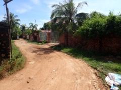 We were close to the villa.